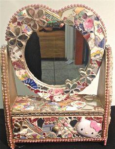 mosaic jewelry box claudiagill com mirror mosaic home decor jewelry box