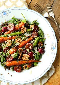 Salatka marchew szparagi