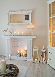 Как сделать декоративный камин изюминкой интерьера: 6 советов