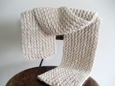 Hand-knit alpaca scarf from my sister-in-law's Etsy shop. Beautiful! $65.