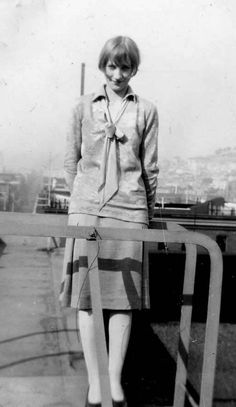 vintage everyday: Flapper: A Found Photo Collection of a Lovely Girl in the 1920s