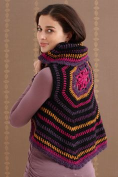 Circle Vest. Would like to make this