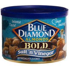 21+ Salt N Vinegar Almonds