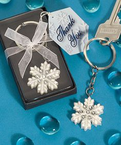 Keychain. Image courtesy Truly Wedding Favors .
