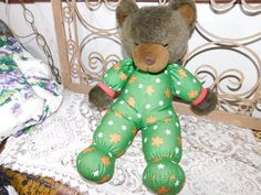Bears Dolls & Bears The Green Mountain Bears 1993 Carol Carini By Mary Meyers Fully Jointed Year-End Bargain Sale