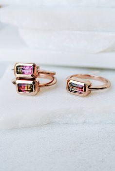 Lili Claspe Jewelry Tourmaline ring  I'm a fan!  www.etsy.com/shop/JillyJillJewelry