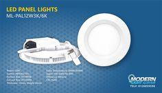 LED PANEL LIGHTS MODERNLIGHT - JEDDAH - TEL#: 0126059596 #Modernlight, #modernlightJeddah, #modernlightksa