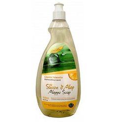 ALEPIA Płyn do mycia naczyń na bazie mydła Alep o zapachu cytrynowym 500ml