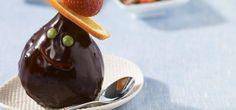 Madame poire au chocolat et Smarties 20 Min, Dessert Recipes, Pudding, Madame, Food, Kawaii, Chocolate Fondue, Truffle, Custard Pudding