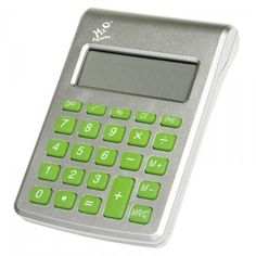 Calculator with a water battery