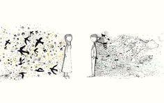 Túnel, ilustración de Vero Gatti