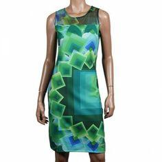 """Desigual Margaret Damen Kleid verde ►►► https://www.modefreund.de/desigual-margaret-kleid-verde/a-1460113801/ It's not the same"""" Desigual ist ungleich, wie die Menschen, die es tragen."""