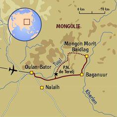 Rando steppes et nomades du Khenti #mongolie #trekking #sport #aventure