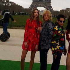 Hansel & Derek at Paris fashion week