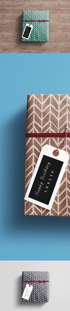 This is Gift Wrap Free Box PSD Mockup which is perfect for gift box design. It allows you to change the tag label design as well as the color of the gift box and the scene background according to your liking. The mockup includes 3 different backgrounds. Check it out and enjoy for free!