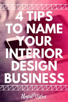 How To Name Your Interior Design Business