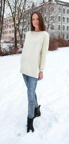 Nøsteblogg - Nøstebarns blogg: Gratisoppskrift : Kjolegenser