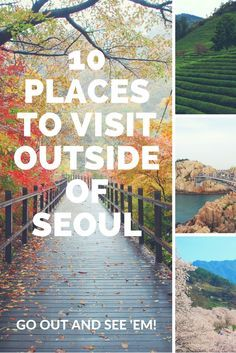 Korea, from its harbor cities to its mural villages to its mountainous landscapes, is stunningly beautiful, and there is much more to be discovered than skyscrapers and fast internet. via @HuffingtonPost