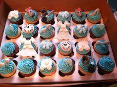 Cinderella cupcakes!!
