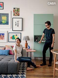 Reforma rápida transforma apartamento alugado de 90 m2 - Casa