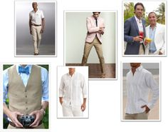 Beach Formal-Men Formal Wedding, Wedding Attire, Wedding Ideas, Beach Formal Attire, Dress Codes, Mens Suits, What To Wear, Suit Jacket, Jackets