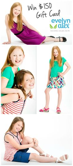 Evelyn Alex - Clothes for tween girls that are fun, comfortable and easy to wear while still being stylish.
