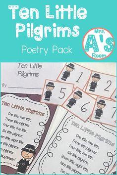 Thanksgiving Poems for Preschool | Mrs. A's Room