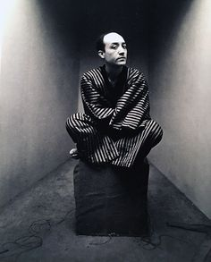 Irving Penn, Early Corner Portrait, Isamu Noguchi, New York, 1947.