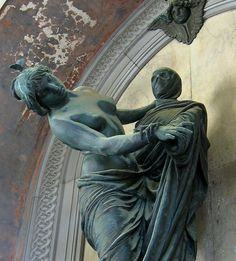 Dancing with Death... (Staglieno Cemetery, Genoa Italy)