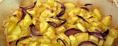 Teglia di patate e cipolle