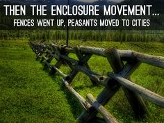Enclosure Movement   Agricultural Revolution   Pinterest