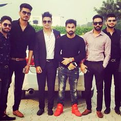 Dilpreet Dhillon with the Desi Crew