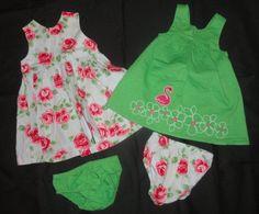 Baby Girls Clothing Lot 6 9 12 Months Outfits NEW EUC Gymboree Carters #Gymboree #DressyEverydayHoliday