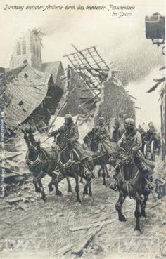 18/10/1914 De Slag aan de IJzer begint - De Groote Oorlog Dag op Dag - Geschiedenis - KW.be - Nieuws uit West-Vlaanderen