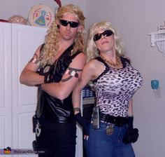 Dog the Bounty Hunter and Beth Costume - 2013 Halloween Costume Contest via @costumeworks