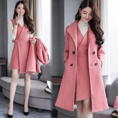 Girls Fashion Clothes, Kpop Fashion Outfits, Winter Fashion Outfits, Suit Fashion, Women's Fashion Dresses, Look Fashion, Cute Casual Outfits, Pretty Outfits, Stylish Outfits
