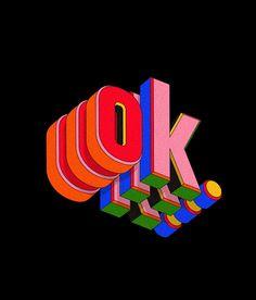 Icon Design, Design Trends, Print Design, Typography Letters, Typography Design, Lettering, Logo Design, Meditation Apps, Behance