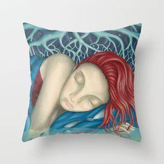 Under the Tree Throw Pillow by Francesco Dibattista - $20.00