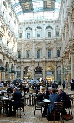The Old Royal Stock Exchange ~ Cornhill, #London, England