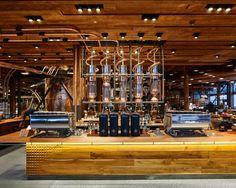 dfab125207f9d2 Boutiques De Luxe, Intérieurs Commerciaux, Howard Schultz, Design De  Restaurant, Torréfaction Du