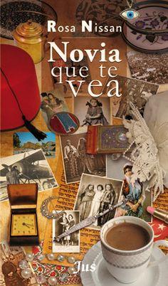 Nombre del Autor: Rosa Nissan.     Novia que te vea narra la historia de Oshinica, una joven perteneciente a la comunidad Sefaradí, grupo judeo-mexicano de los cincuenta, en la ciudad de México.