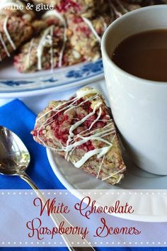Yummy Recipes: White Chocolate Raspberry Scones recipe