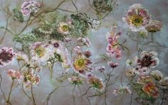 Claire Basler - Contemporary Artist - Flowers - 064