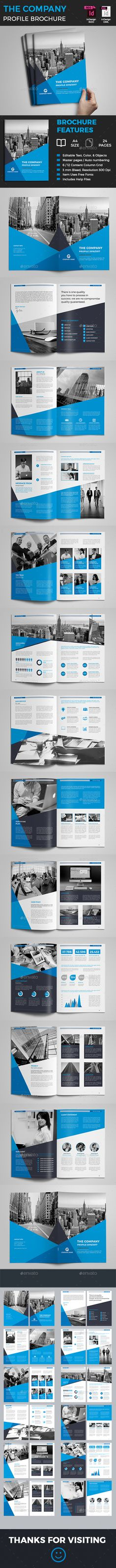 #Company #Profile - Corporate #Brochures Download here:  https://graphicriver.net/item/company-profile/19249135?ref=alena994