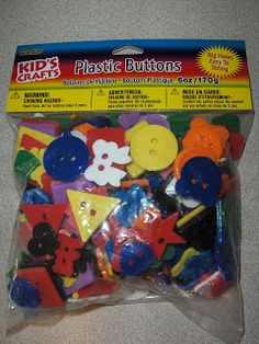 15+ Activities - with 1 Bag of Buttons from The Activity Mom