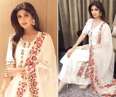 Shilpa Shetty Looks Royal In This Ethnic Suit - FashionPro