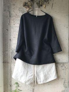 누구라도 블라우스 2 만드는 방법 : 네이버 블로그 How To Make Clothes, Couture Tops, Diy Dress, Top Pattern, Style Me, Kids Outfits, Sewing Patterns, Fashion Dresses, Bell Sleeve Top