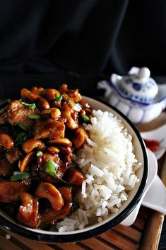 Meat Recipes, Cooking Recipes, China Food, Spices And Herbs, Special Recipes, Bao, Kung Pao Chicken, Food Porn, Food And Drink