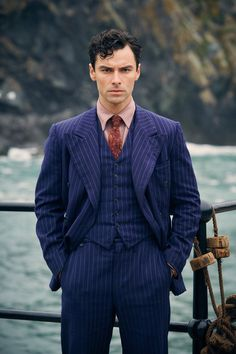 Aidan Turner as Phillip Lombard in 'And Then There Were None'