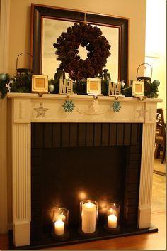 DIY Faux Fireplace Ideas | Faux Fireplace
